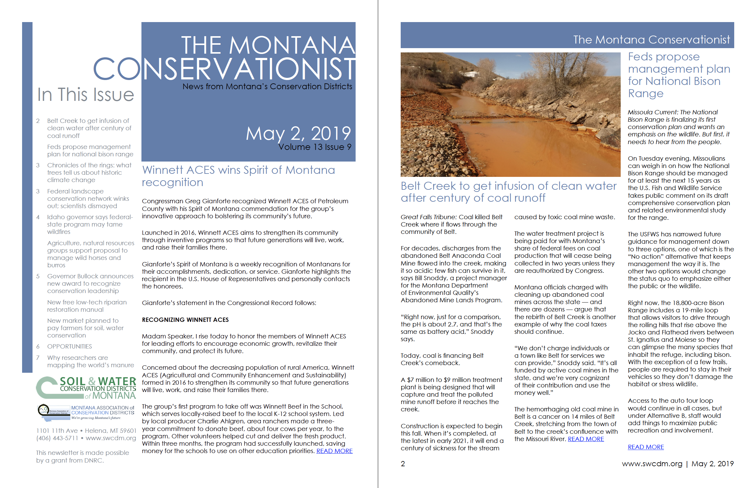 The Montana Conservationist May 2